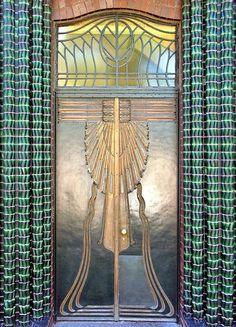 Art Deco Door - Darmstadt - Germany. @Deidra Brocké Wallace