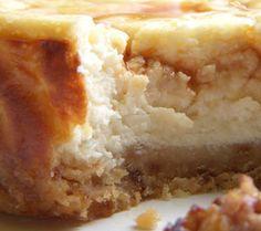 Cheesecake au chèvre & figues