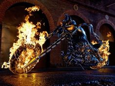 Ghost Riders Hellcycle