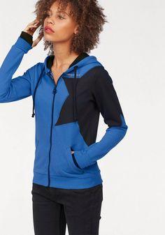 KangaROOS Kapuzensweatjacke, im Colorblocking-Style für 49,99€. Cooler Zip-Hoodie mit Stern von KangaROOS, Hochwertige, kuschelige Sweatware bei OTTO