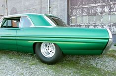 Mickey+Thompson+Aluminum+Wheels | Emerald Arrowhead: Ron Kintz' 1962 Pontiac Grand Prix