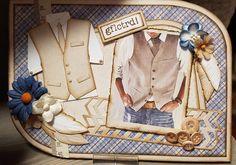 Gerda's Hobbyshop Marianne Design, Funny Cards, Masculine Cards, Diy Cards, Cool Stuff, Crafts, Dress, Paper Crafting, Paper Envelopes