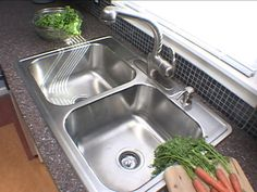 HOW TO INSTALL A STAINLESS-STEEL SINK AND FAUCET - A stainless-steel sink is easy to clean and to install. Use these step-by-step instructions and find out for yourself.