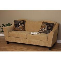 Dimitri Camel Curve Sofa | Overstock.com ($394)