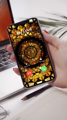 Best Ringtones & Wallpapers for your iPhone! Ps Wallpaper, Iphone Wallpaper Video, Wallpaper Animes, New Year Wallpaper, Phone Screen Wallpaper, Flower Phone Wallpaper, Rainbow Wallpaper, Colorful Wallpaper, Galaxy Wallpaper