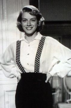 "Rosemary Clooney. Singer, beloved actress. Her book, ""I Stayed Too Long at the Fair"" details her heartbreaking marriage to Jose Ferrer. George Clooney's aunt. http://www.imdb.com/name/nm0167041/"