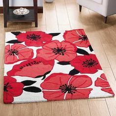 39 terra poppy area rug orangeredtan ideas for tx home poppy kitchen decor poppy rug dining kitchen house garden freemans mightylinksfo