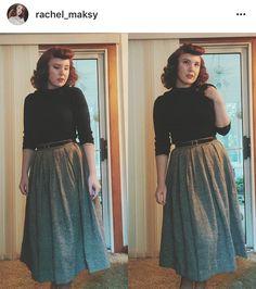 Rachel Maksy- 1940s fashion