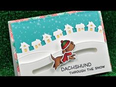 the Lawn Fawn blog: Lawn Fawn Video {9.23.16} Happy Howlidays Slider Card + Handmade by Heather!