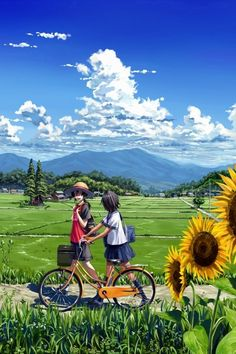 Often times, it's not about the boy or girl in the picture, but about the landscape, the scenery, the artist's attention to detail. That's what I love about anime and manga. Fan Art Anime, Anime Artwork, Manga Anime, Manga Art, Graphisches Design, Anime Kunst, Anime Scenery, Animes Wallpapers, Jolie Photo