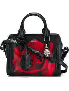 Shop Alexander McQueen mini 'Padlock' rose print tote in Eraldo from the world's best independent boutiques at farfetch.com. Shop 300 boutiques at one address.