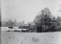 Museumplein. Duitse bunkers 1951