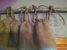 Simple, But Fabulous: Burlap Curtains