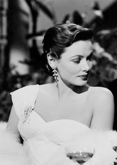 Gene Tierney in On the Riviera, 1951