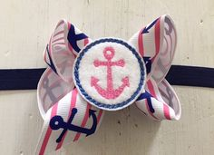 Another cute bow for our cruise!!