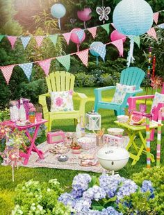 Think pink for your summer fete garden party : UKTV