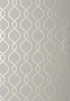 Nisido Bead #wallpaper in #charcoal from the Geometric Resource 2 collection. #Thibaut