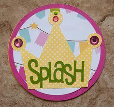 Princess Birthday Party Baby Shower by lovetiesbymeggin on Etsy, $37.50