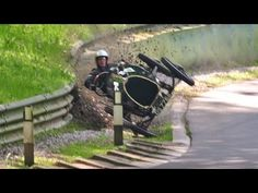 Classic Car Crash: Racer Crashes His £250,000 1924 Bugatti Racing Car - YouTube