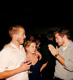 Three of the greatest contemporary actors (Heath Ledger, Michelle Williams, Jake Gyllenhaal).
