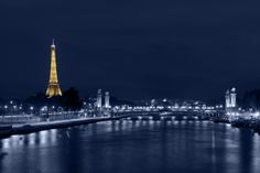 In Paris, the Pont Alexandre III, the Eiffel Tower, the Seine