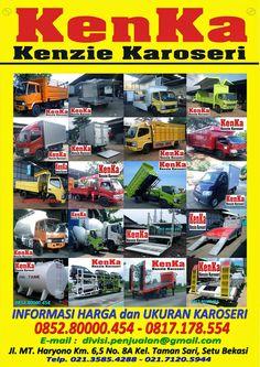 KAROSERI MOBIL dan TRUCK INDONESIA >> KAROSERI KENKA Comic Books, Trucks, Comics, Cover, Dan, Truck, Track, Comic Book, Comic Book