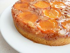 :pastry studio: Apricot Almond Upside Down Cake