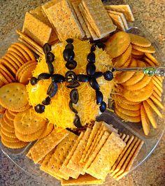Basketball food! Cheeseball :)