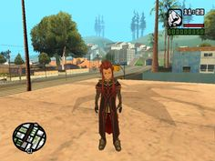 Asch (アッシュ) for Grand Theft Auto san andreas San Andreas, Grand Theft Auto, Gta, Anime, Cartoon Movies, Anime Music, Animation, Anime Shows