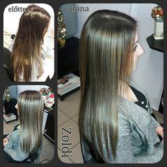 #zöldiszilvia #mywork #munkám #haircut #hajvágás #hajfestés #haircolor #balayage