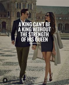 A king is a king regardless, so is a queen. AND I am thrilled to be yours. And man do we have it. :) I like being strong. Classy Quotes, Girly Quotes, Romantic Quotes, Romantic Love, Encouragement Quotes, Wisdom Quotes, True Quotes, Motivational Quotes, Inspirational Quotes