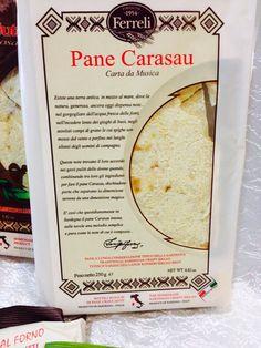 """Pane Carasau  con sfoglie sottilissime che viene anche denominato """" Carta da Musica"""""""