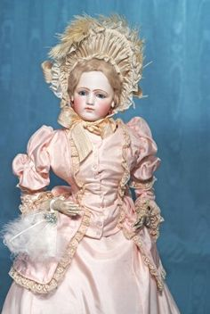 Lot: GORGEOUS LARGE FRENCH BISQUE POUPEE BY PIERRE-FRANCOIS, Lot Number: 0011, Starting Bid: $2,500, Auctioneer: Frasher's Doll Auction, Auction: MY UNFORGETTABLE ONES, Date: November 1st, 2014 GMT