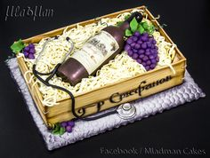 Bottle+Wine+Cake+-+Cake+by+MLADMAN