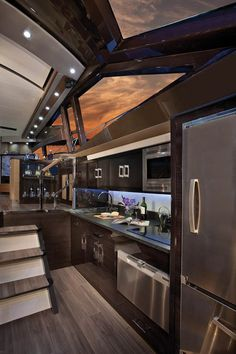 Yep, could throw together a few things in this galley -  djc