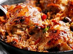 One-Pot Italian Tomato Chicken and Rice