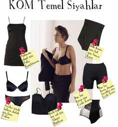 """KOM Black Basics"" by fashistanbuller on Polyvore"