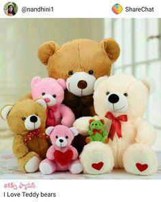 sweet teddy bear love u hd wallpaper teddy bear pinterest