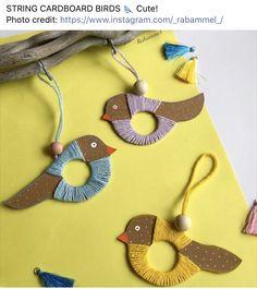 Bird Crafts, Animal Crafts, Easter Crafts, Diy For Kids, Crafts For Kids, Arts And Crafts, Summer Crafts, Christmas Crafts, Craft Club