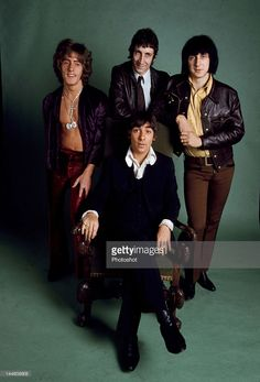 Portrait of the Who, taken in 1968. (John Entwistle, Keith Moon, Roger Daltrey and Pete Townshend); Job: 72530; Ref: KCN;