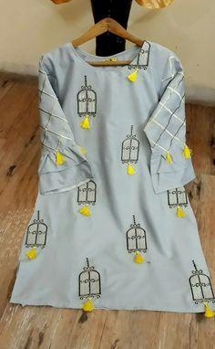 Trendy crochet jacket summer outfit Source by calenol summer Kurti Embroidery Design, Embroidery Suits, Embroidery Fashion, Hand Embroidery, Kurti Neck Designs, Kurta Designs Women, Blouse Designs, Salwar Designs, Stylish Dresses For Girls