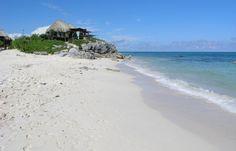 Azulik, Tulum Mexico  Boutique beach resort - tiki huts! :)