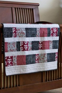 Aggie Baby Blanket