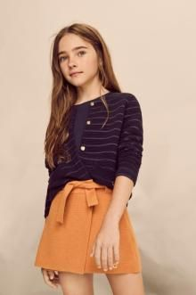 Massimo Dutti's dresses and skirts for girls Winter sale. Discover floral or knit dresses and checked or denim skirts on sale and dress your daughter in style. Preteen Girls Fashion, Girls Fashion Clothes, Teen Fashion Outfits, Outfits For Teens, Kids Fashion, Dope Clothes, Teenage Outfits, Style Clothes, Fashion Fashion