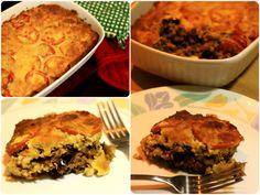 Vegetarian Moussaka, moussaka recipe with mince soya