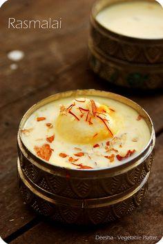 Rasmalai with a hint of Mango by deepthi.vishwanath, via Flickr