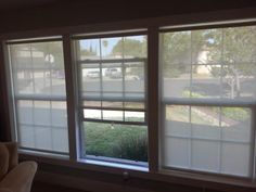 """Our customer said: """"After a year of reviewing blinds and deciding on what to get, I finally just made the plunge and ordered them. They were super easy to install (with 2 people) and work great. I love that I can see out, but the sun isn't destroying my carpet and furniture. Overall, we really like these blinds."""""""