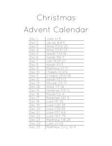 Christmas Calendar: Remember in December Scriptures 365 has ...