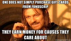 Fundraising ideas for #Canada #giftcard #fundraiser #FundScrip