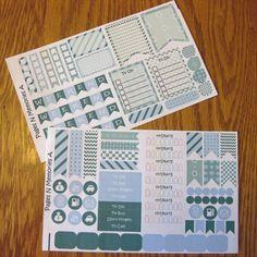 December Monthly Planner Stickers for Erin Condren Life Planners